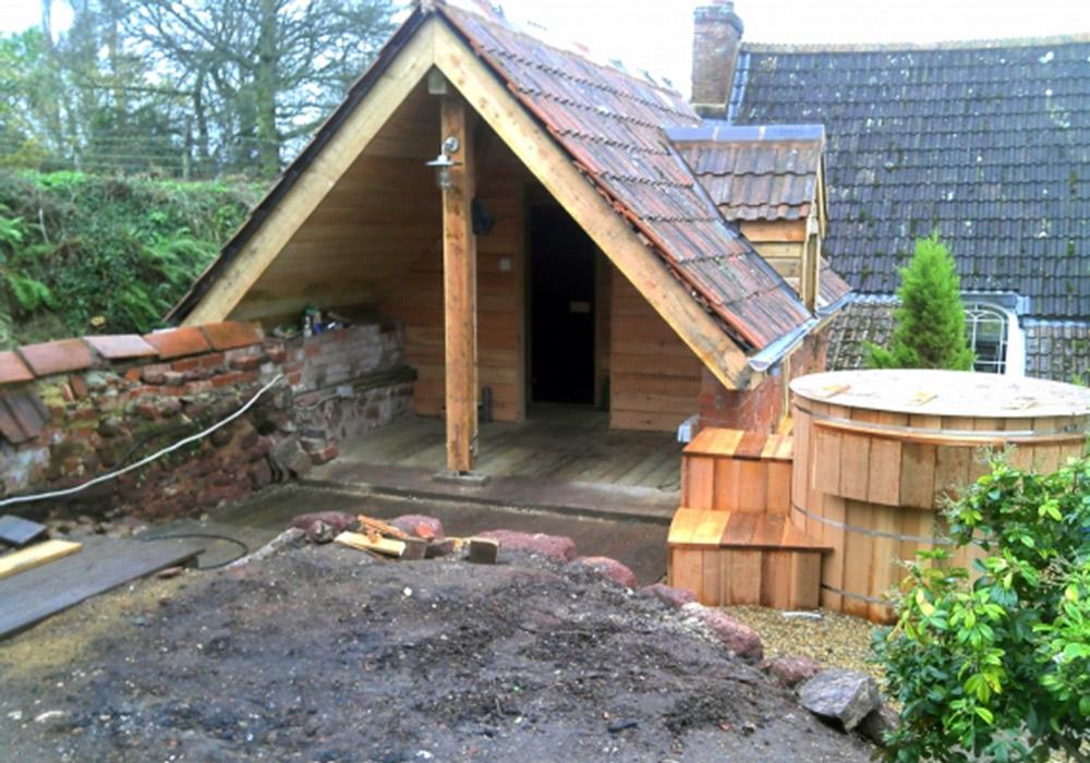 Garden Sauna Futureproof Building